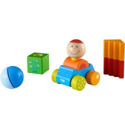 Coche explorador Paul - juguete de madera