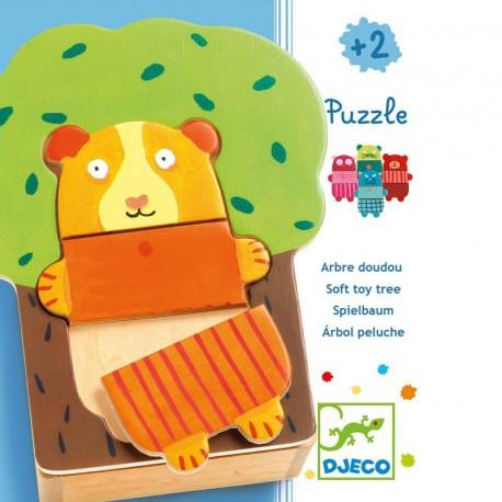 Puzzle Arbol Peluches