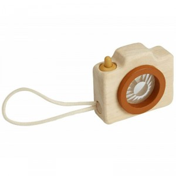 Mini Cámara de Fotos de madera