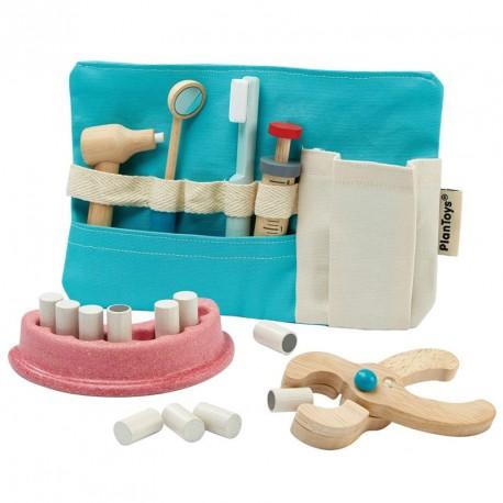 Joc de Dentista - set amb instruments de fusta