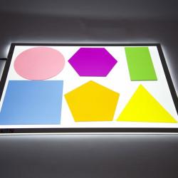 Colosales Formas Geométricas colores translúcidos