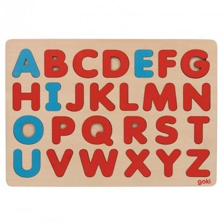 Puzle Alfabet estilo Montessori - 26 pces.