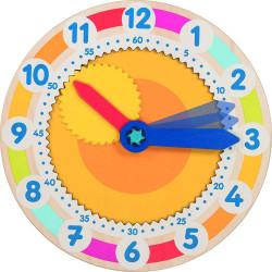 Reloj con engranaje - Aprende a leer la hora