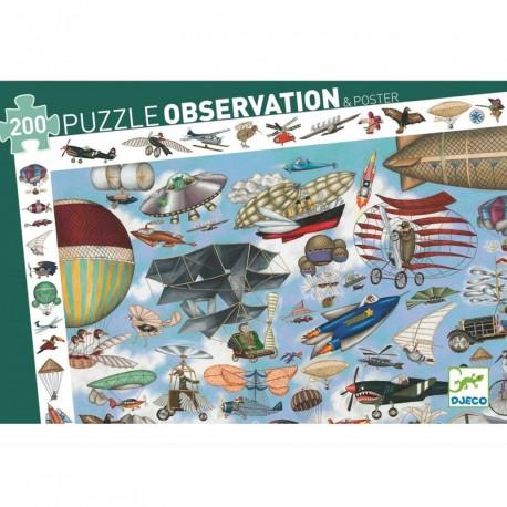 Puzzle observación - Aero Club - 200 pzas.