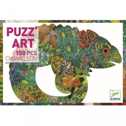 Puzzle art Camaleón - 150 pzas.