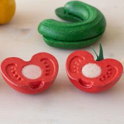 Frutas y verduras imperfectas para cortar
