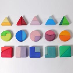 Triángulo, cuadrado, circulo - Bloques de construcción