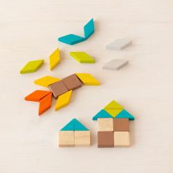 PlanMini - Mosaico de madera