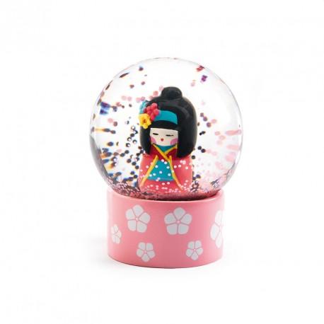 Mini Bolas de Nieve So Cute - Kokeshi
