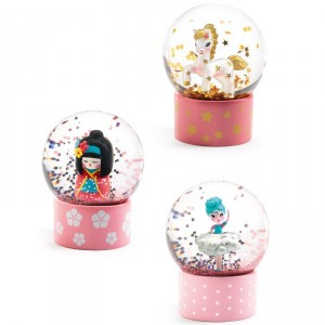 Mini Bolas de Nieve So Cute - Kokeshi