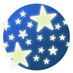Pegatinas fluorescentes - Estrellas
