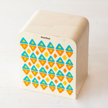 Cajón de percusión L - instrumento musical de madera