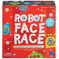 Robot Face Race - carrera de atributos de robots para 2-4 jugadores