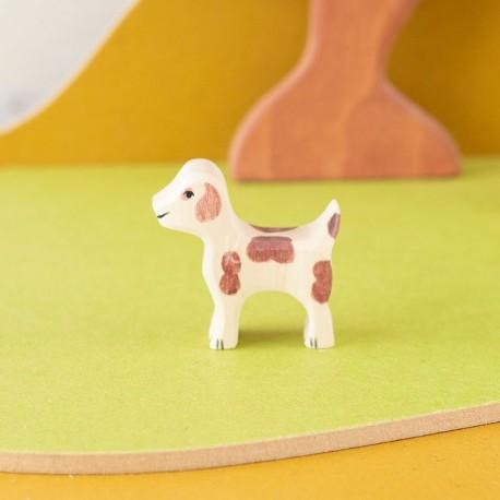 Perro guardián pequeño - animal de madera
