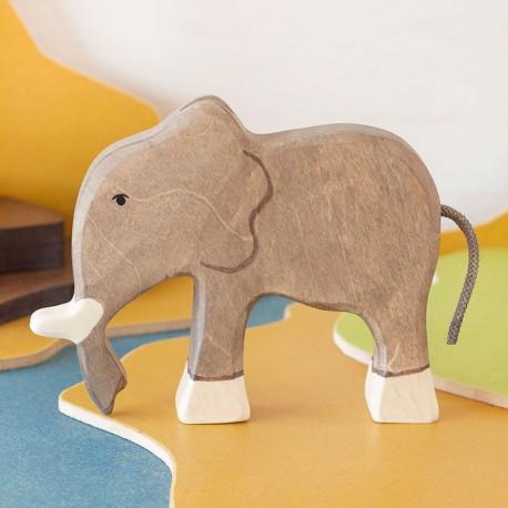 Elefante - animal de madera