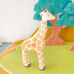 Jirafa - Animal de madera