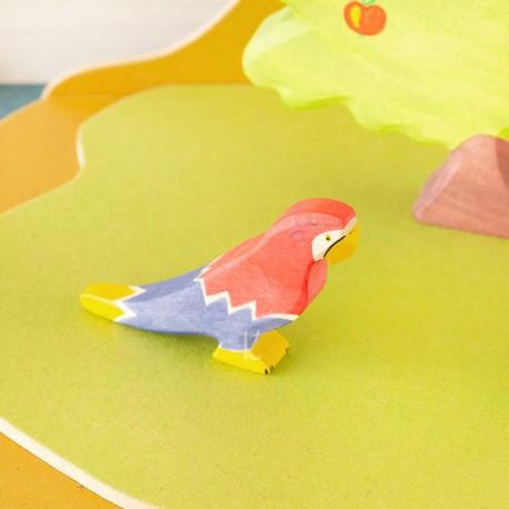 Papagallo - animal de madera