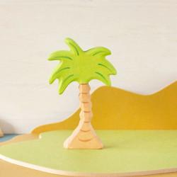 Palmera pequeña - planta de madera