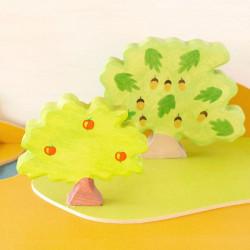 Manzano - planta de madera