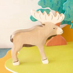 Alce - animal de madera