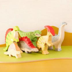 Tyrannosaurus Rex  - dinosaurio de madera