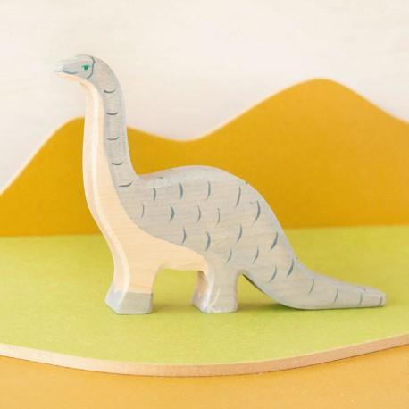 Brontosaurio - dinosaurio de madera