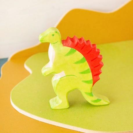 Spinosaurus - dinosaurio de madera