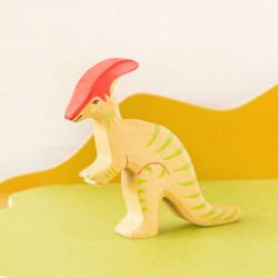 Parasaurolophus - dinosaurio de madera