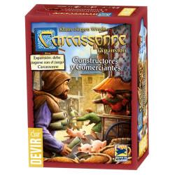 Carcassonne expansión Constructores y Comerciantes - Juego de estratégia