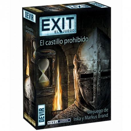 Exit 4: El Castillo Prohibido - juego cooperativo de escape para 1-4 jugadores