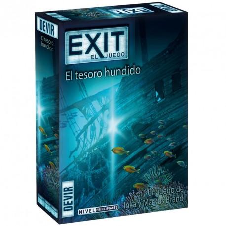Exit 7: El tesoro hundido - juego cooperativo de escape para 1-4 jugadores