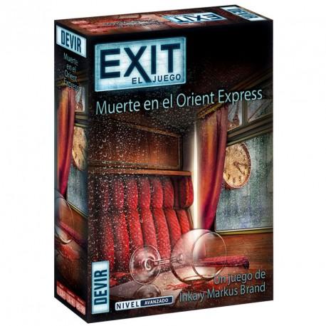 Exit 8: Mort a L'Orient Express - joc cooperatiu d' Escape per a 1-4 jugadors