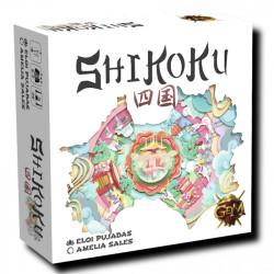 Shikoku - moderado juego de carrera para 3-8 jugadores