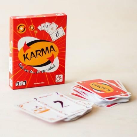 Karma - joc de cartes per a 2 - 6 jugadors