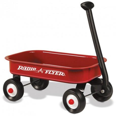 Petita vagoneta clàssica vermella de joguina Radio Flyer