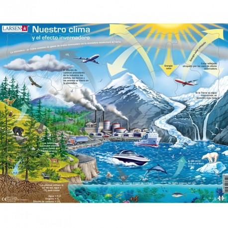 Puzle Educatiu Larsen 69 peces - El nostre Clima