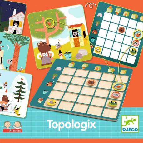 Juego Eduludo Topologix - juego de orientación