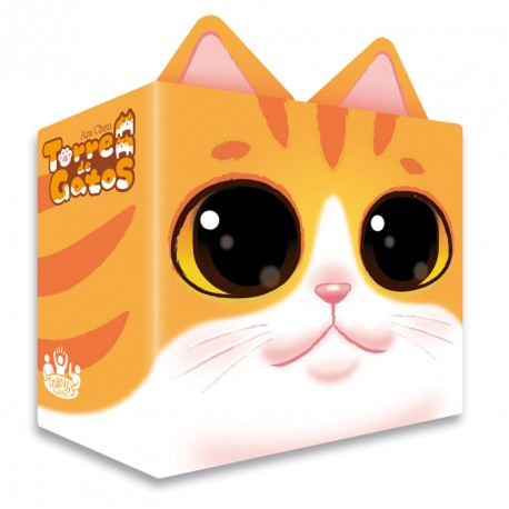 Torre de Gatos - juego de habilidad y suerte para 2-4 jugadores