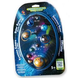 Colección de canicas - sistema solar