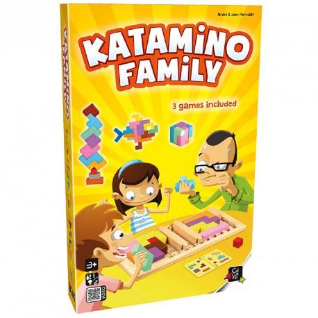 Katamino Family de fusta - Joc puzle d'estratègia per a 2 jugadors