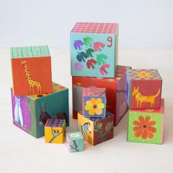 Cubos apilables - Naturaleza