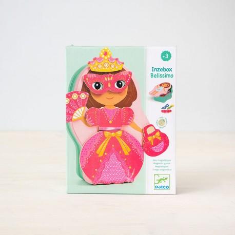 Inzebox Belissimo - Juego magnético crear hadas y princesas