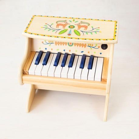 Piano Electrònic Animambo - instrument de fusta