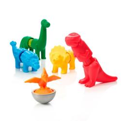 SmartMax Mis primeros Dinosaurios - juego de construcción magnético 14 pzas.