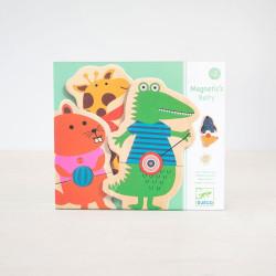 Animales Magnéticos Belty - puzzle de madera