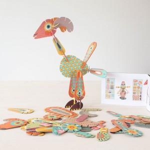 Volubo Animales - creativo juego de construcción