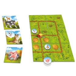 Farmini - juego familiar de recolección para 1-4 jugadores