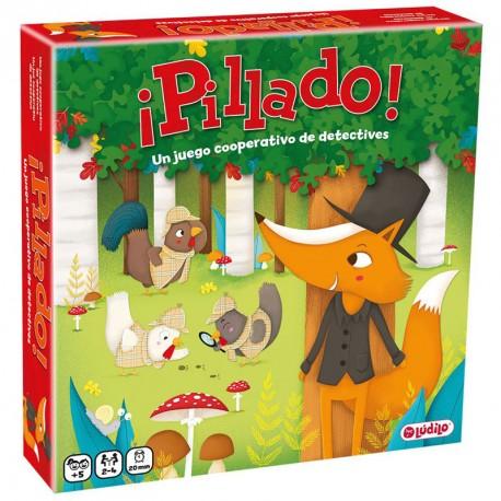 Pillado - Juego cooperativo de detectives para 2-4 jugadores