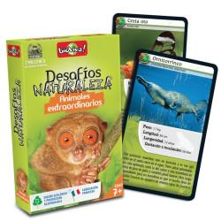 Desafíos de la Naturaleza: Animales extraordinarios - juego de cartas para 2-6 jugadores