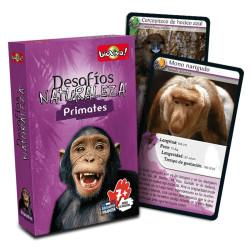Desafíos de la Naturaleza: Primates - juego de cartas para 2-6 jugadores